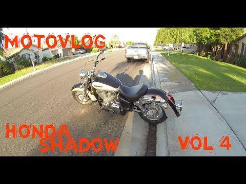 Honda Shadow Aero 750 MotoVlog Vol 4