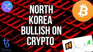 BITCOIN IS BREAKING $10200!!!! - NORTH KOREA MINES - TEZOS AND SWAP TECHNICAL ANALYSIS