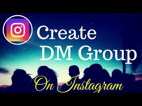 How To Create A DM Group On Instagram