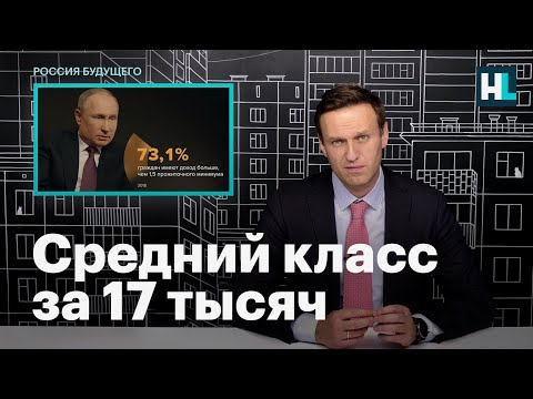 Навальный о среднем классе по версии Путина