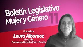 Laura Albornoz - Boletín Legislativo de Mujer y Género de la BCN Chile