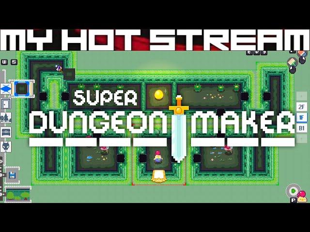 Super Dungeon Maker - 1st Quick Dungeon Build