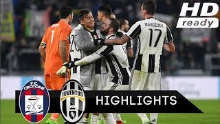 Juventus vs crotone all goals and full match highlights