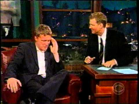 Late Late Show Craig Kilborne 2002 with Anthony Michael Hall short clip