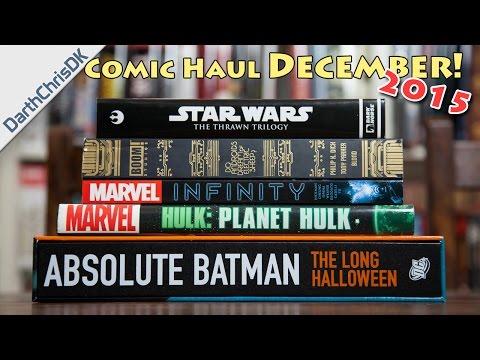 Comic Book Haul: December 2015