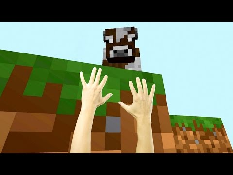 REALISTIC MINECRAFT - STEVE BECOMES TINY