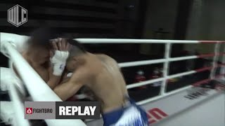 Myagmarsuren Borkhuu (TigerMuayThai) wins by KO at WLC: Hideout Battle