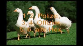 Скачать 1 2 Polizei 3 4 Offizier Lyrics Video German Nursery Rhymes