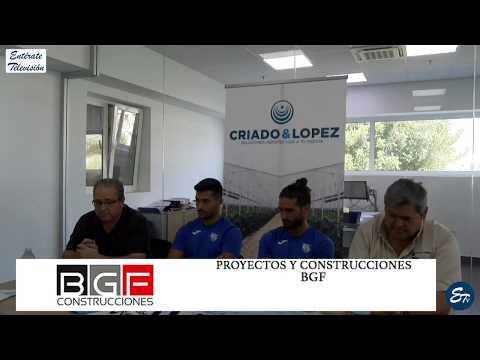 𝚅𝙸𝙳𝙴𝙾 🎥 El Club Deportivo El Ejido 2012 los presenta de dos en dos | Ivi Sanchez, Alex Moreno |