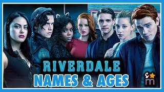 RIVERDALE Season 2 Cast Real Name & Age