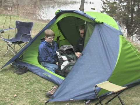 & Columbia Mt Logan 2-person Dome Tent - YouTube