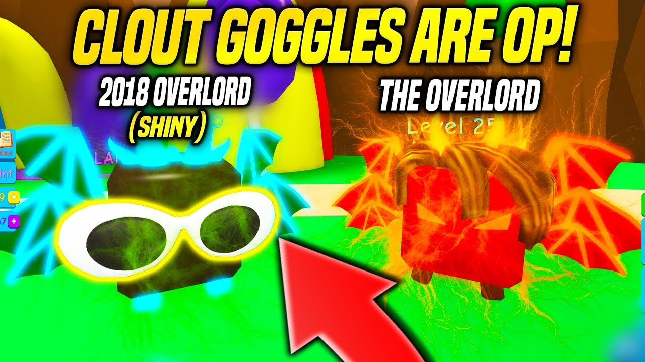 OMG These CLOUT GOGGLES Make PETS INSANELY GOOD in BUBBLE GUM SIMULATOR!! (Roblox)