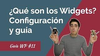 🔴¿Qué son y Cómo Crear y Configurar WIDGETS en WordPress?