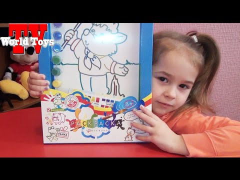 пальчиковые краски своими руками - YouTube