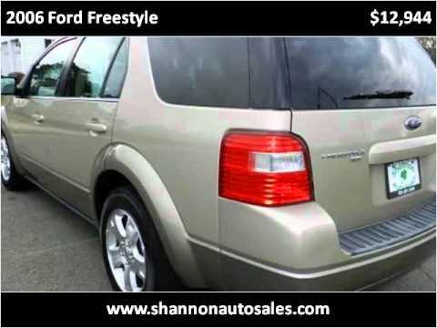 2006 ford freestyle used cars manassas va youtube. Black Bedroom Furniture Sets. Home Design Ideas