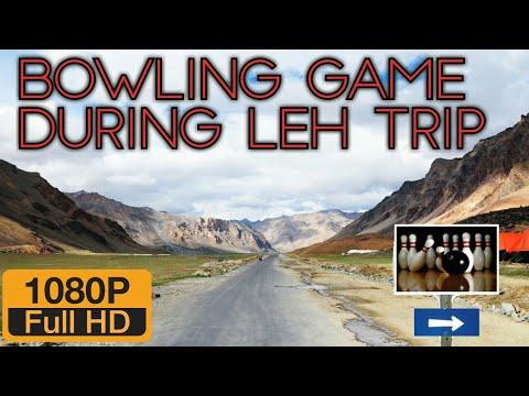 Bowling game during Leh Ladakh trip | Yardan Dive