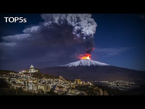 5 Biggest Volcanic Eruptions Caught on Camera