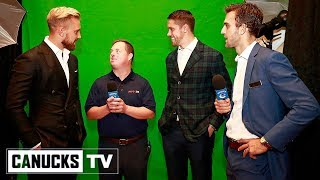 Canucks Attend Sports Celebrities Festival