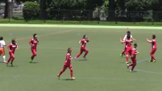 2017 7 2 九州女子サッカーリーグ 第5節 vs 福岡女学院 ハイライト