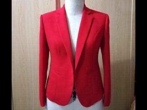 Dạy Cắt May Cơ Bản: Hướng Dẫn Cách May áo Vest Nữ Cổ 2 Ve Bài 1|áo Vest Nữ,hoàng Sơn Designer