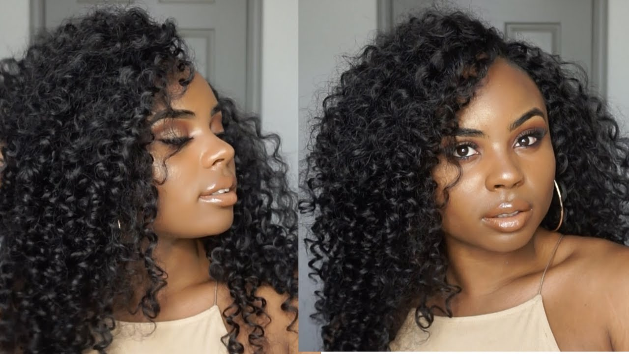Poppin summer hair crochet braids outre xpression 4 in 1 loop bahamas curl youtube - Crochet braids avec xpression ...