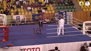 2010 Büyükler Türkiye Boks Șampiyonası / Engin GÜMÜŞ / Mavi köșe / Ağır siklet +91