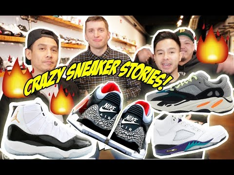 CHILDHOOD SNEAKER STORIES + A SPECIAL GUEST APPEARANCE!