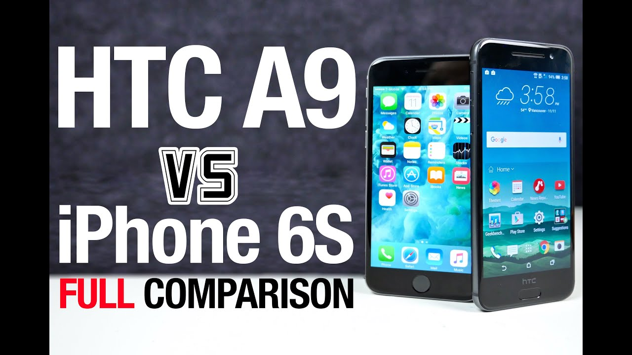 HTC One A9 and Apple iPhone 6S - Comparison