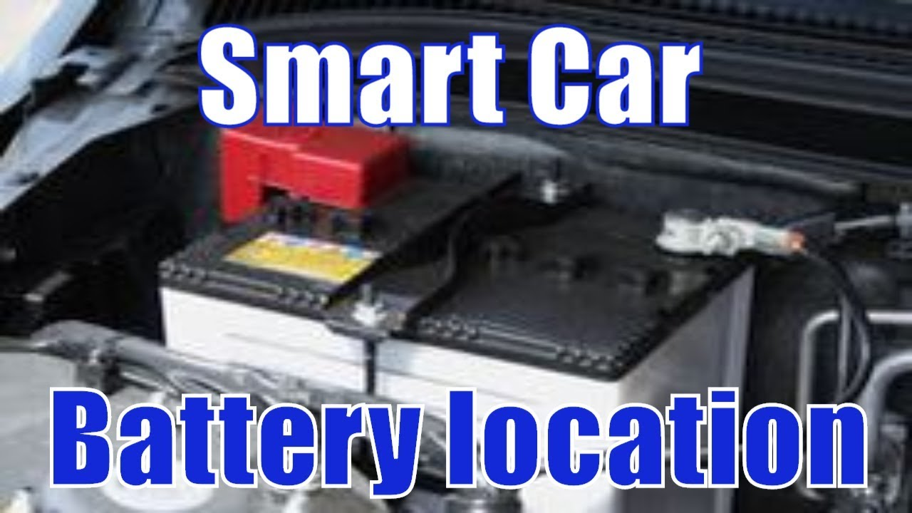 Where Is The Battery On A Smart Car Fortwo