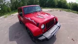 Jeep Wrangler 4d - Движение с комментариями (60p)