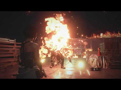 Resident Evil 3 Remake: Flamethrower Nemesis No Damage Magnum Only (Inferno)