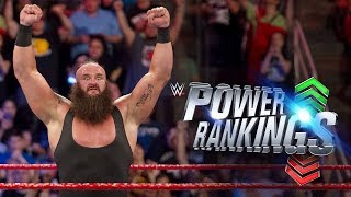 Braun Strowman reigns over a monstrous WWE.com Power Rankings: Aug. 25, 2017