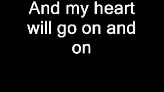 Phim | My heart will go on lyrics Celine Dion | My heart will go on lyrics Celine Dion