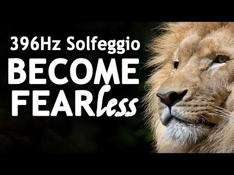 SOLFEGGIO 396 Hz ⧊ BECOME FEARLESS ⧊ POWERFUL Sleep Meditation Music   Solfeggio Frequencies