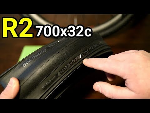 Bontrager R2 700x32c Tire Weight and Actual Size