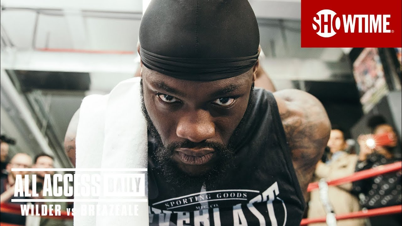 Download ALL ACCESS DAILY: Wilder vs. Breazeale   Part 1   SHOWTIME