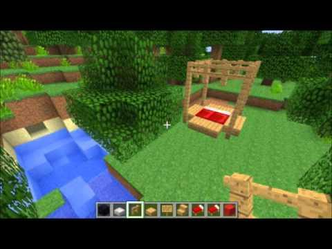 Tuto minecraft comment faire une belle chambre youtube - Comment faire une belle chambre minecraft ...