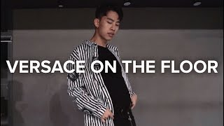 Versace on The Floor Bruno Mars vs David Guetta / Jinwoo Yoon Choreography