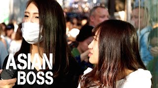 Why Do The Japanese Wear Masks In Public? | ASIAN BOSS