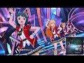 「ミリシタ」Marionetteは眠らない (Game ver.) 星井美希、伊吹翼、北上麗花、ジュリア
