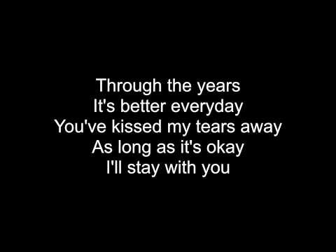Through The Years (Kenny Rogers) - HD With Lyrics! By: Chris Landmark