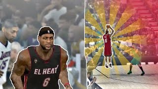 RECREATING LEBRON JAMES JUMPER FROM NBA 2K10 and 2K11!!