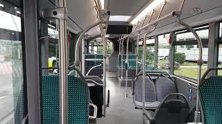 A bord des deux bus hybrides articulés qui circuleront à Pau