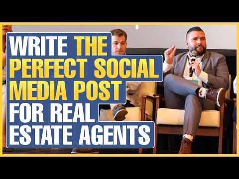 How to Write the Perfect Social Media Post for Real Estate Agents