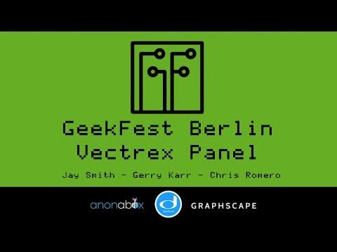 GeekFest Berlin 2016 | Vectrex Panel with Jay Smith, Gerry Karr and Chris Romero