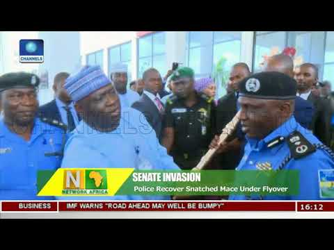Police Recover Snatched Mace Under Flyover | Network Africa |