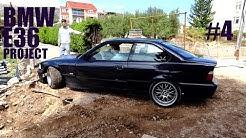 BMW E36 PROJECT   MINJAMO CENTRALNI LEZAJ KARDANA I GUMIGEVIN  