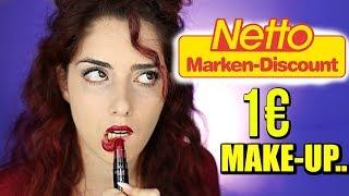 Was zur HÖLLE 💀NETTO Make up...