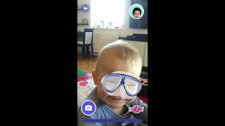 Speech Blubs - Child video modeling, mirroring, mimicking - Adam, 11 months