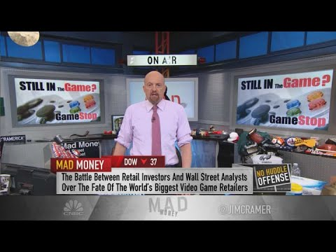 Cramer advises to avoid a battleground stock like GameStop: 'There are easier ways to make money'